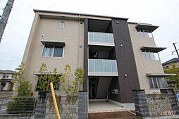 広島県福山市神辺町大字新徳田の賃貸マンションの外観