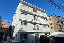 北海道札幌市東区北二十五条東13の賃貸マンションの外観