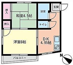 SEIWAビル 鶴ヶ峰駅徒歩2分[302号室]の間取り