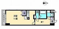 AXiS空港通[310 号室号室]の間取り