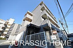 大阪府堺市北区中長尾町3丁の賃貸マンションの外観