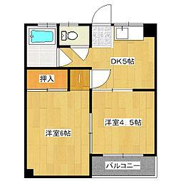 マンションつづき[3階]の間取り