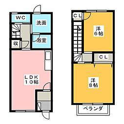 ストークホームII[1階]の間取り
