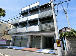 兵庫県西宮市花園町の賃貸マンションの外観