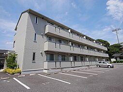 茨城県日立市中成沢町3丁目の賃貸アパートの外観