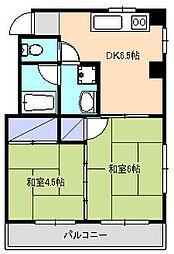 コダマビル[3階]の間取り