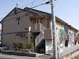 京都府京都市西京区松室荒堀町の賃貸アパートの外観