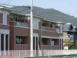 香川県観音寺市柞田町の賃貸アパートの外観