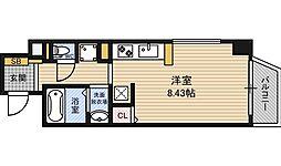 セレブコート新北野[5階]の間取り