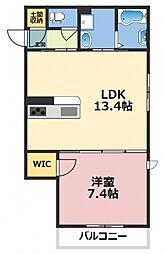 (仮称)東大阪市シャーメゾン上小阪3丁目[305号室号室]の間取り