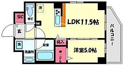(仮称)合資会社 信宣M 3階1LDKの間取り