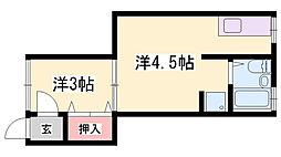 エクセル長尾[2階]の間取り