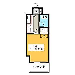 プログレス大橋[6階]の間取り