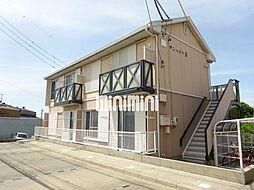 サンハイツ B棟[2階]の外観