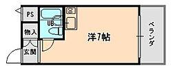 大阪府大阪市東淀川区相川2丁目の賃貸マンションの間取り