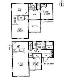 新築戸建 リーブルガーデン古賀市今の庄第九 (全4棟) 4号棟