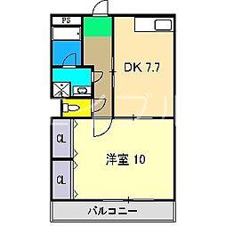 Lattice南竹島[3階]の間取り