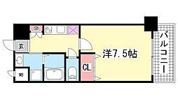 アドバンス神戸グルーブ[4階]の間取り