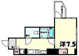 ウィンテージ神戸元町[9階]の間取り