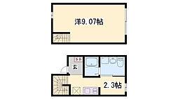 Ferice Kobe[1階]の間取り