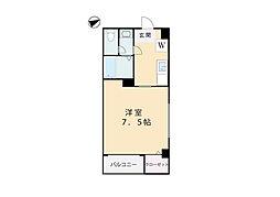 オードリーハウス[203号室]の間取り