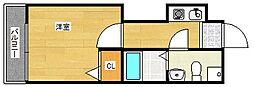 ティアラコート イースト[10階]の間取り