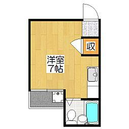 菊池第三マンション[306号室]の間取り