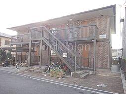 大阪府四條畷市岡山1丁目の賃貸アパートの外観