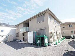 埼玉県川越市氷川町の賃貸アパートの外観