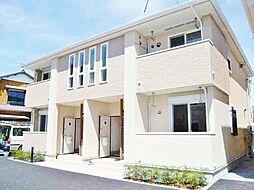 千葉県東金市田間の賃貸アパートの外観