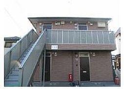 グリーンカーサF[2階]の外観