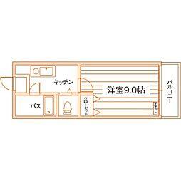 ロイヤルインテリジェンス[11階]の間取り