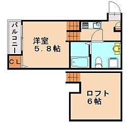 ダイネハイマート[2階]の間取り