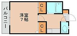 ストリームライン箱崎2[3階]の間取り