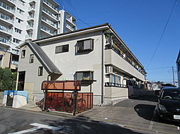 東京都江戸川区東葛西9丁目の賃貸アパートの外観