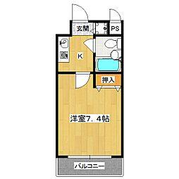 ルミネスプラザ[3階]の間取り