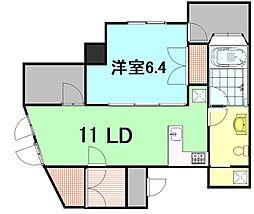 シンクロニー[6階]の間取り