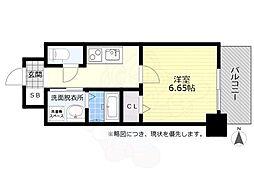 名鉄名古屋本線 金山駅 徒歩8分の賃貸マンション 8階1Kの間取り