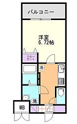 (仮)D-Room東高砂[302号室]の間取り