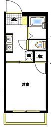 カーサ・リフレスカ戸塚[1階]の間取り