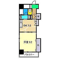 カーサ地球33番地[7階]の間取り