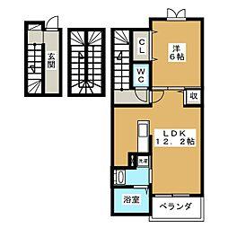 セントラル・プラザ[3階]の間取り