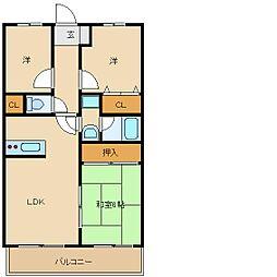 プリマベーラブリッサ[3階]の間取り