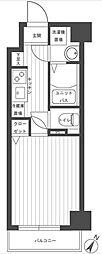 グリフィン横浜・メディオ[5階]の間取り