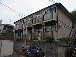 兵庫県宝塚市塔の町の賃貸アパートの外観