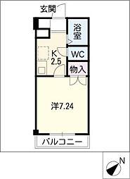 TKハイツI[1階]の間取り