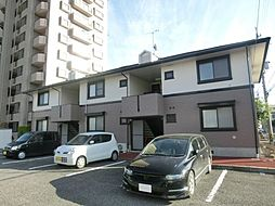 長野県松本市双葉の賃貸アパートの外観