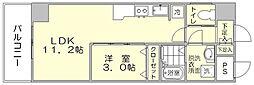 エイペックス5[2階]の間取り