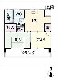 フェニックスビル[3階]の間取り