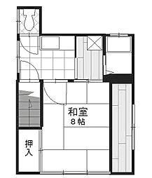 小林西荘[2階]の間取り